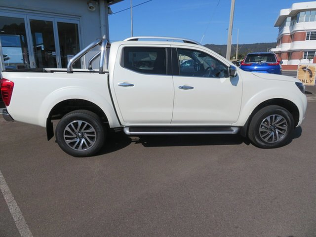 Demo Nissan Navara D23 S4 MY19 ST-X, 2019 Nissan Navara D23 S4 MY19 ST-X White Diamond 7 Speed Sports Automatic Utility