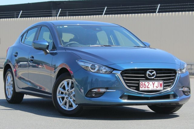 Used Mazda 3 BN5478 Maxx SKYACTIV-Drive Sport, 2018 Mazda 3 BN5478 Maxx SKYACTIV-Drive Sport Blue 6 Speed Sports Automatic Hatchback