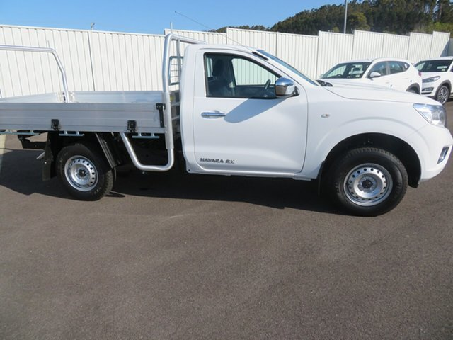Demo Nissan Navara D23 S4 MY19 RX 4x2, 2019 Nissan Navara D23 S4 MY19 RX 4x2 Polar White 6 Speed Manual Cab Chassis