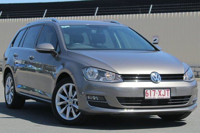 Used Volkswagen Golf VII MY14 103TSI DSG Highline, 2014 Volkswagen Golf VII MY14 103TSI DSG Highline Grey 7 Speed Sports Automatic Dual Clutch Wagon