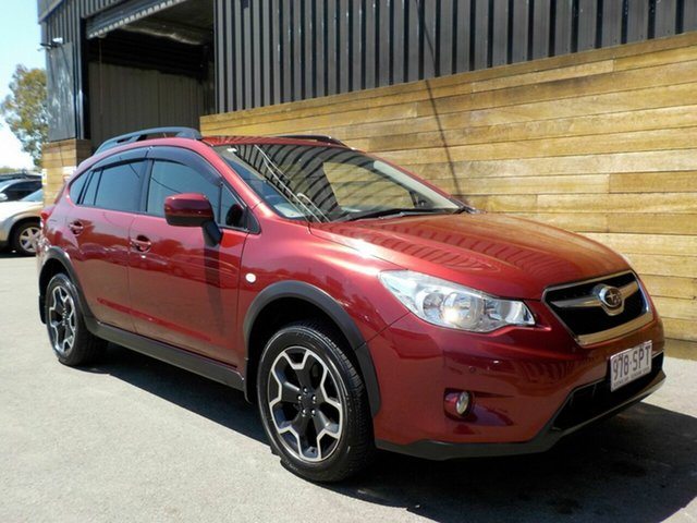 Used Subaru XV G4X MY12 2.0i-L Lineartronic AWD, 2012 Subaru XV G4X MY12 2.0i-L Lineartronic AWD Red 6 Speed Constant Variable Wagon