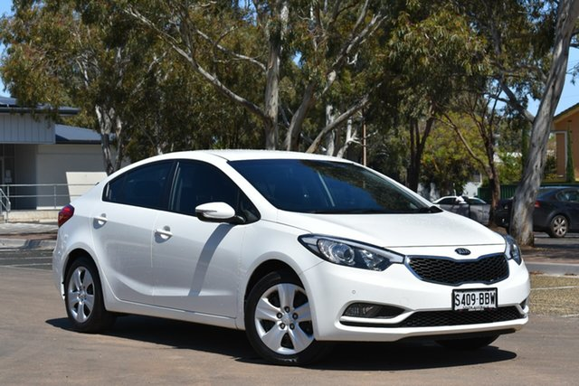 Used Kia Cerato TD MY13 S, 2013 Kia Cerato TD MY13 S White 6 Speed Sports Automatic Sedan