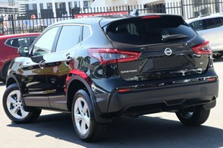 2021 Nissan Qashqai MY20 ST+ Pearl Black Continuous Variable Wagon.
