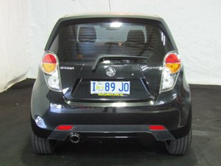 2010 Holden Barina Spark MJ MY11 CD Carbon Flash Black 5 Speed Manual Hatchback