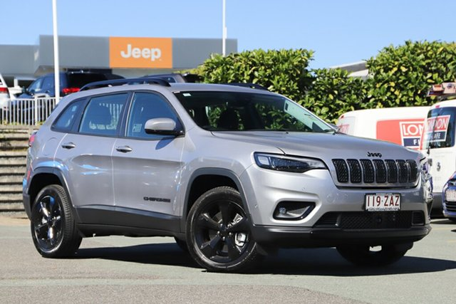 Used Jeep Cherokee KL MY19 Night Eagle, 2019 Jeep Cherokee KL MY19 Night Eagle Billet Silver 9 Speed Sports Automatic Wagon