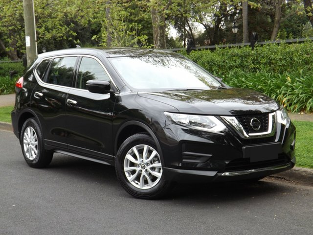 Demo Nissan X-Trail T32 Series II ST X-tronic 2WD, 2018 Nissan X-Trail T32 Series II ST X-tronic 2WD Diamond Black 7 Speed Constant Variable Wagon