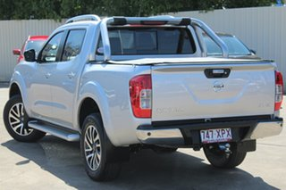 2017 Nissan Navara D23 S2 ST-X Brilliant Silver 7 Speed Sports Automatic Utility.