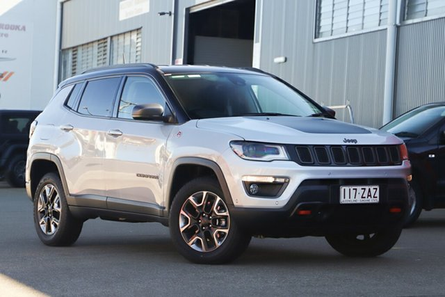 Used Jeep Compass M6 MY18 Trailhawk, 2018 Jeep Compass M6 MY18 Trailhawk Minimal Grey 9 Speed Automatic Wagon