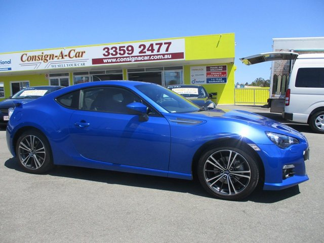 Used Subaru BRZ Z1 MY13 , 2012 Subaru BRZ Z1 MY13 Blue 6 Speed Manual Coupe