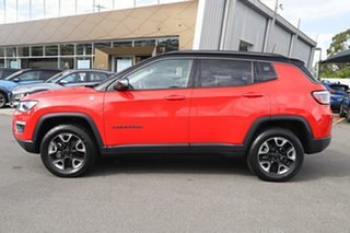 2018 Jeep Compass M6 MY18 Trailhawk Colorado Red 9 Speed Automatic Wagon.