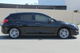 2015 Subaru Impreza G4 MY15 2.0i-S Lineartronic AWD Black 6 Speed Constant Variable Hatchback.