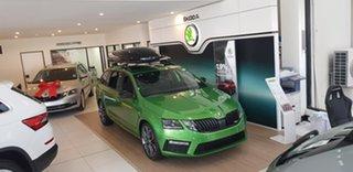2019 Skoda Octavia NE MY19 RS DSG 245 Green 7 Speed Sports Automatic Dual Clutch Wagon.
