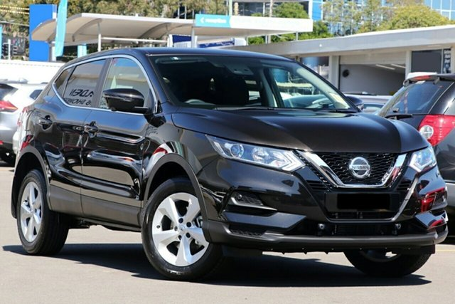 New Nissan Qashqai MY20 ST+ Castle Hill, 2021 Nissan Qashqai MY20 ST+ Pearl Black Continuous Variable Wagon