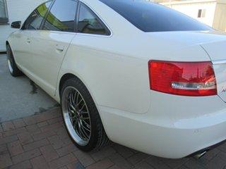 2006 Audi A6 4F Tiptronic Quattro White 6 Speed Sports Automatic Sedan
