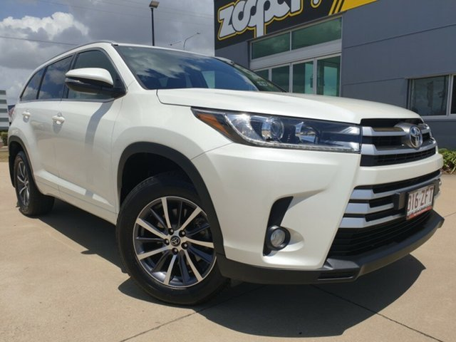Used Toyota Kluger GSU50R GXL 2WD, 2017 Toyota Kluger GSU50R GXL 2WD White 8 Speed Sports Automatic Wagon