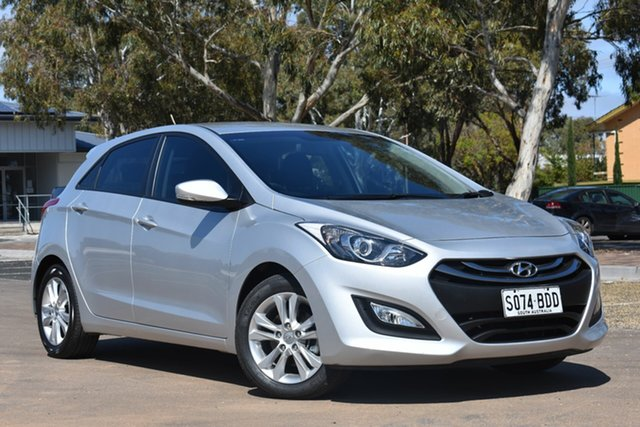 Used Hyundai i30 GD2 MY14 Trophy, 2014 Hyundai i30 GD2 MY14 Trophy Silver 6 Speed Manual Hatchback