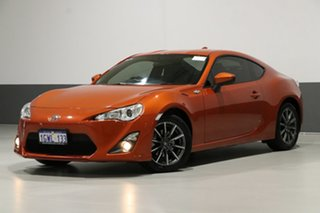 2015 Toyota 86 ZN6 MY15 GT Orange 6 Speed Manual Coupe.