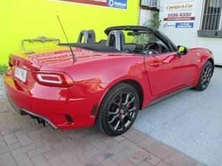 2016 Abarth 124 348 Spider Red 6 Speed Manual Roadster