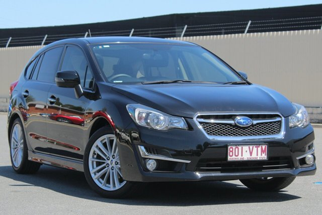 Used Subaru Impreza G4 MY15 2.0i-S Lineartronic AWD, 2015 Subaru Impreza G4 MY15 2.0i-S Lineartronic AWD Black 6 Speed Constant Variable Hatchback