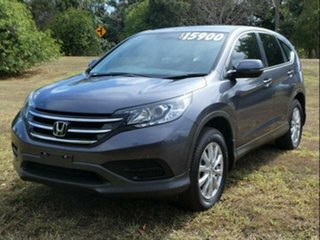 2013 Honda CR-V 30 MY15 VTi (4x2) Grey 6 Speed Manual Wagon