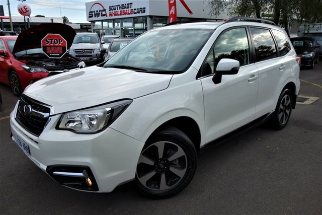Used Subaru Forester S4 MY16 2.0D-L AWD, 2016 Subaru Forester S4 MY16 2.0D-L AWD White 6 Speed Manual Wagon