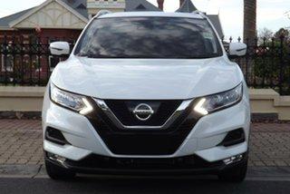 2018 Nissan Qashqai J11 Series 2 ST-L X-tronic Ivory Pearl 1 Speed Constant Variable Wagon.