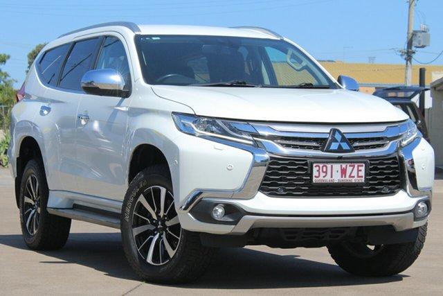 Used Mitsubishi Pajero Sport QE MY16 Exceed, 2016 Mitsubishi Pajero Sport QE MY16 Exceed White 8 Speed Sports Automatic Wagon