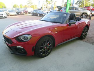 2016 Abarth 124 348 Spider Red 6 Speed Manual Roadster.
