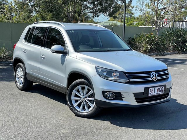 Used Volkswagen Tiguan 5N MY16 132TSI DSG 4MOTION, 2015 Volkswagen Tiguan 5N MY16 132TSI DSG 4MOTION Silver 7 Speed Sports Automatic Dual Clutch Wagon