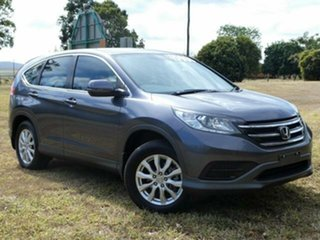 2013 Honda CR-V 30 MY15 VTi (4x2) Grey 6 Speed Manual Wagon.