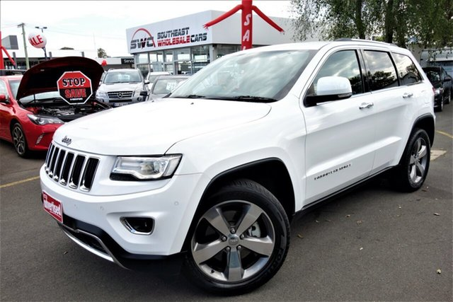 Used Jeep Grand Cherokee WK MY15 Limited, 2014 Jeep Grand Cherokee WK MY15 Limited White 8 Speed Sports Automatic Wagon