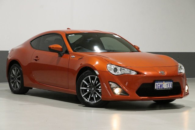 Used Toyota 86 ZN6 MY15 GT, 2015 Toyota 86 ZN6 MY15 GT Orange 6 Speed Manual Coupe