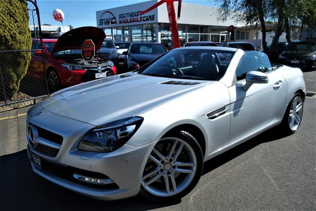 Used Mercedes-Benz SLK-Class R172 SLK250 7G-Tronic +, 2014 Mercedes-Benz SLK-Class R172 SLK250 7G-Tronic + Silver 7 Speed Sports Automatic Roadster