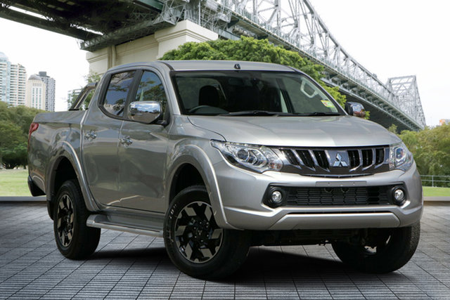Used Mitsubishi Triton MQ MY18 Exceed Double Cab, 2018 Mitsubishi Triton MQ MY18 Exceed Double Cab Silver 5 Speed Sports Automatic Utility