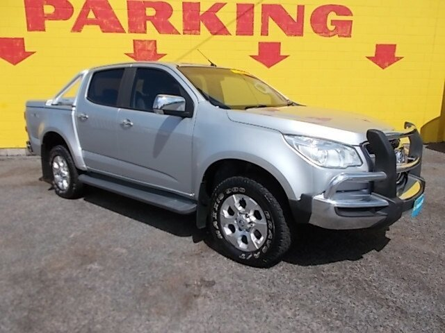Used Holden Colorado RG MY16 LTZ Crew Cab, 2016 Holden Colorado RG MY16 LTZ Crew Cab Silver 6 Speed Sports Automatic Utility