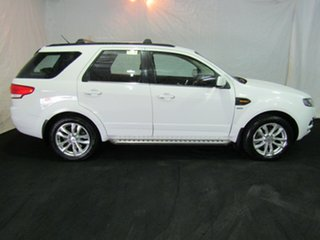 2011 Ford Territory SZ TS Seq Sport Shift White 6 Speed Sports Automatic Wagon.