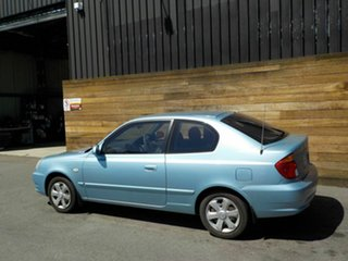 2005 Hyundai Accent LC MY04 GL Blue 4 Speed Automatic Hatchback