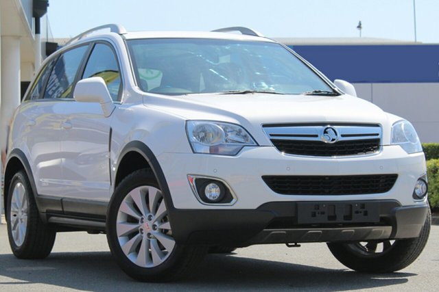 Used Holden Captiva CG MY15 5 LT, 2015 Holden Captiva CG MY15 5 LT Summit White 6 Speed Sports Automatic Wagon