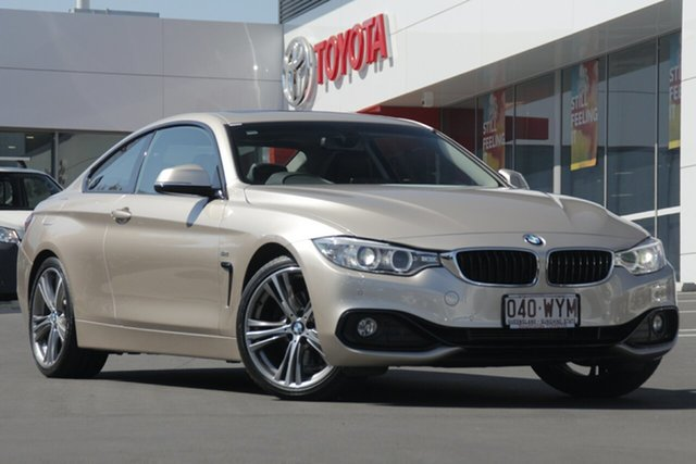 Used BMW 4 Series F32 428i Modern Line, 2015 BMW 4 Series F32 428i Modern Line Light Gold 8 Speed Sports Automatic Coupe
