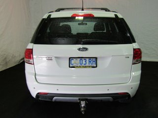 2011 Ford Territory SZ TS Seq Sport Shift White 6 Speed Sports Automatic Wagon