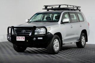 2011 Toyota Landcruiser VDJ200R MY10 GXL Silver 6 Speed Sports Automatic Wagon.