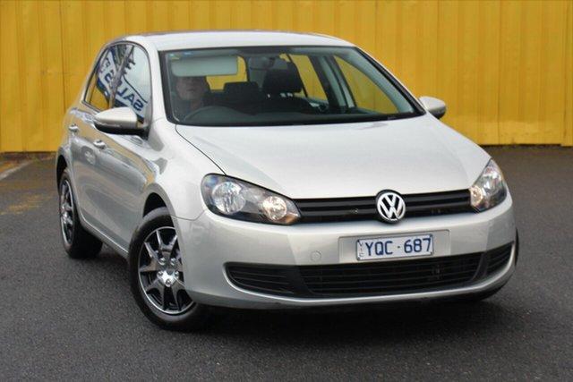 Used Volkswagen Golf VI MY11 77TSI DSG, 2011 Volkswagen Golf VI MY11 77TSI DSG Silver 7 Speed Sports Automatic Dual Clutch Hatchback