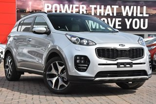 2018 Kia Sportage QL MY19 GT-Line AWD Silver 6 Speed Sports Automatic Wagon.