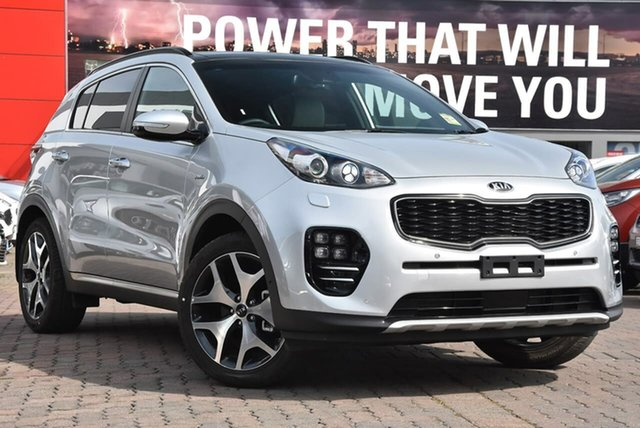 Used Kia Sportage QL MY19 GT-Line AWD, 2018 Kia Sportage QL MY19 GT-Line AWD Silver 6 Speed Sports Automatic Wagon