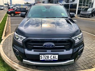 2019 Ford Ranger PX MkIII 2019.75MY Wildtrak Pick-up Double Cab Shadow Black 10 Speed
