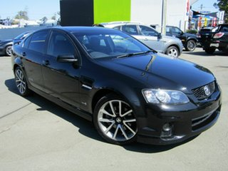 2011 Holden Commodore VE II SS-V Black 6 Speed Automatic Sedan.