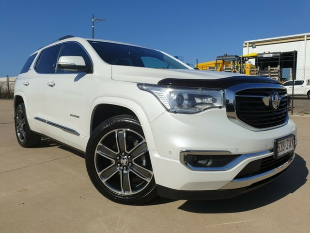 Used Holden Acadia AC MY19 LTZ-V AWD, 2018 Holden Acadia AC MY19 LTZ-V AWD White 9 Speed Sports Automatic Wagon