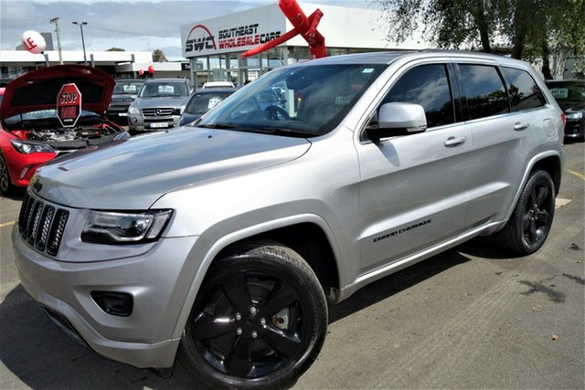 Used Jeep Grand Cherokee WK MY2014 Blackhawk, 2014 Jeep Grand Cherokee WK MY2014 Blackhawk Grey 8 Speed Sports Automatic Wagon