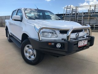 2016 Holden Colorado RG MY16 LS Crew Cab White 6 Speed Sports Automatic Utility.