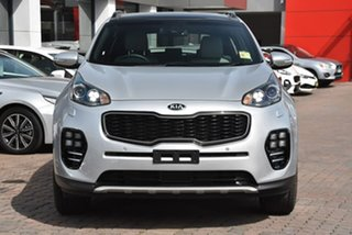 2018 Kia Sportage QL MY19 GT-Line AWD Silver 6 Speed Sports Automatic Wagon